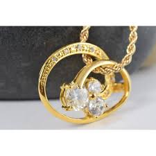 elegant pendant necklace images Jewelry necklaces charm necklaces gold infinity handmade jpg