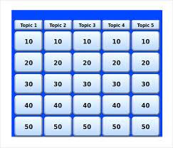 blank jeopardy template permalink to jeopardy powerpoint template