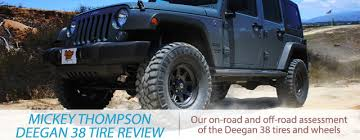 Fierce Off Road Tires Mickey Thompson Deegan 38 Tire And Wheel Review
