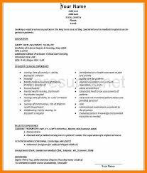 Sample Recent Graduate Resume New Graduate Rn Resume 6 New Graduate Rn Resume Sample Resume