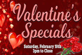 valentines specials s dinner specials gold ranch casino dayton