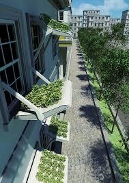 window herb gardens herbed windows yanko design