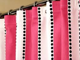 White With Pink Polka Dot Curtains 70 Best Shower Curtains Images On Pinterest Shower Curtains