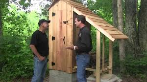 how to build a smokehouse final steps youtube