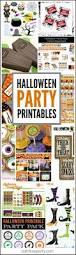 halloween party printables roundup party printables and