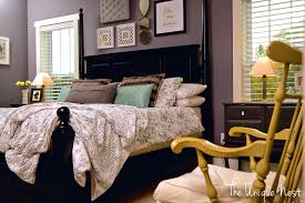 Gray Master Bedroom by Master Bedroom Wall Paint