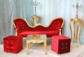 location canapé mariage trone de mariage à louer doré et velours location de meubles