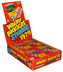 ring pop boxes wacky packages 1st series rerun 1979