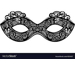 masqurade mask masquerade mask design royalty free vector image