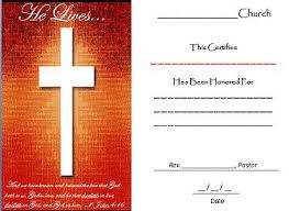 certificate of honor he lives