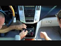 lexus rx 350 sound system lexus rx stereo removal 2004 2009