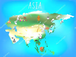 Asia And Europe Map by Political Map Of Central And Eastern Europe At Asia Landmarks Map