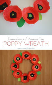 remembrance veteran u0027s day poppy wreath mama papa bubba art