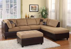 Sectional Sofa Sets 9909br Brown Sectional Sofa Set By Homelegance