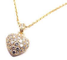 cartier heart necklace images Cartier love hearts fine diamond necklaces pendants ebay jpg