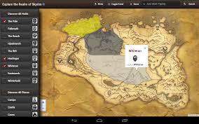 Treasure Map 3 Skyrim Map For Skyrim Hd Usa Android Apps On Google Play