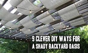 Shady Backyard Ideas 32 Cheap And Easy Backyard Ideas That Are Borderline Genius
