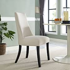 dining room brown leather wingback dining chair belfort wingback
