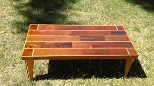 brazilian walnut brazilian cherry u0026 red oak table part 4 youtube
