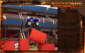 3d monster truck stunt racing monster truck stunt parking 3d android apps on google play