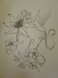 hummingbird and flower tattoo tattoo collections