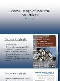 seismic design of industrial structures corrosion crane machine