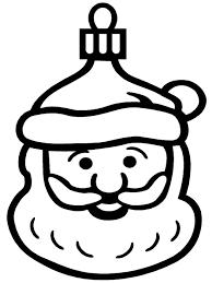 free christmas coloring christmas ornament