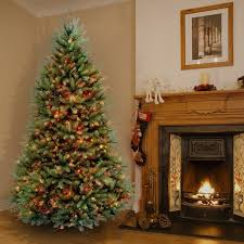 6 5 foot dunhill fir pre lit or unlit artificial hinged