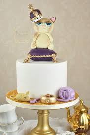 Bespoke Cakes Queen Grumpy Cat Cake Juniper Cakery Bespoke Cakes In