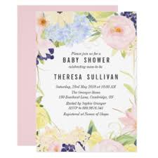 Baby Shower Pastel - spring baby shower invitations u0026 announcements zazzle