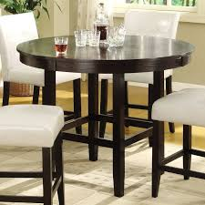bar height dining room table sets black bar height dining set