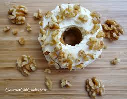 gourmet cooks carrot cake donuts w cream cheese frosting