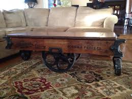 railroad cart coffee table 34 best railroad cart coffee table images on pinterest cart coffee