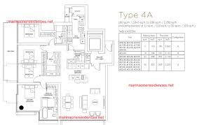 marina square floor plan showflat units of marina one project