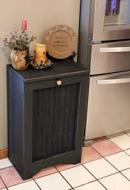 cabinet trash bin cabinet kitchen impressive tilt out trash can