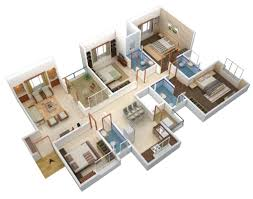 4 bhk home design 4 diy home plans database
