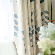 Light Block Curtains Leaf Light Blocking Curtains