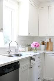 what color backsplash with white quartz countertops our house kitchen renovation kitchen design outdoor