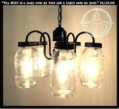 5 Jar Chandelier Jar Light Fixture Kit For Like This Item Jar