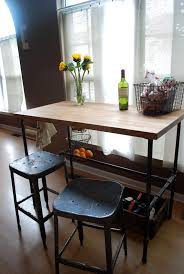 Kitchen Breakfast Bar Table Home Design Impressive Kitchen Bar Table And Stools Craft Tables