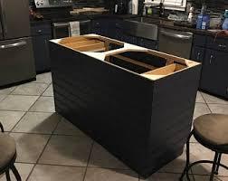 kitchen island cabinet base only kitchen island base etsy