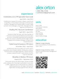 Resume Online Website Public Relations Resume U003c3 Things I Like Pinterest Public