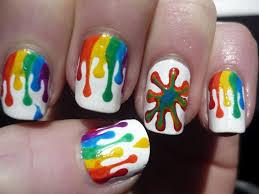 19 amazing rainbow nail art designs pretty designs