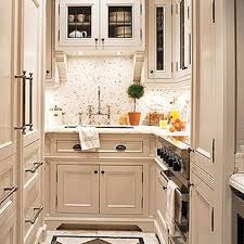 designing a small kitchen family home with small interiors and
