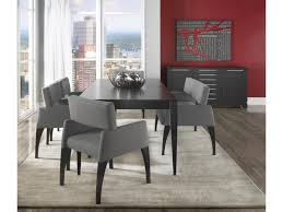 custom dining room table canadel custom dining modern customizable table set with bench