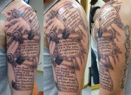 scroll scroll tattoos and