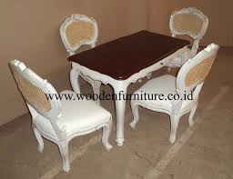 French Style Furniture by Kids Dining Set French Style Kids Furniture Antique Dining Set