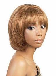 Mushroom Hairstyle Fashion Mushroom Hairstyle Full Bang Fluffy Short Wavy Synthetic