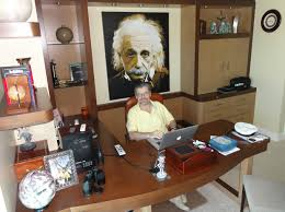 Albert Einsteins Desk With A Little Help From Albert Einstein Warren Royal Once Again