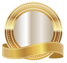 gold ribbon gold seal with gold ribbon png clipart image gallery